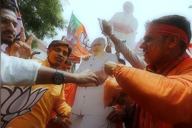 Prime Minister Modi said that the historical victory of the general elections, the party says