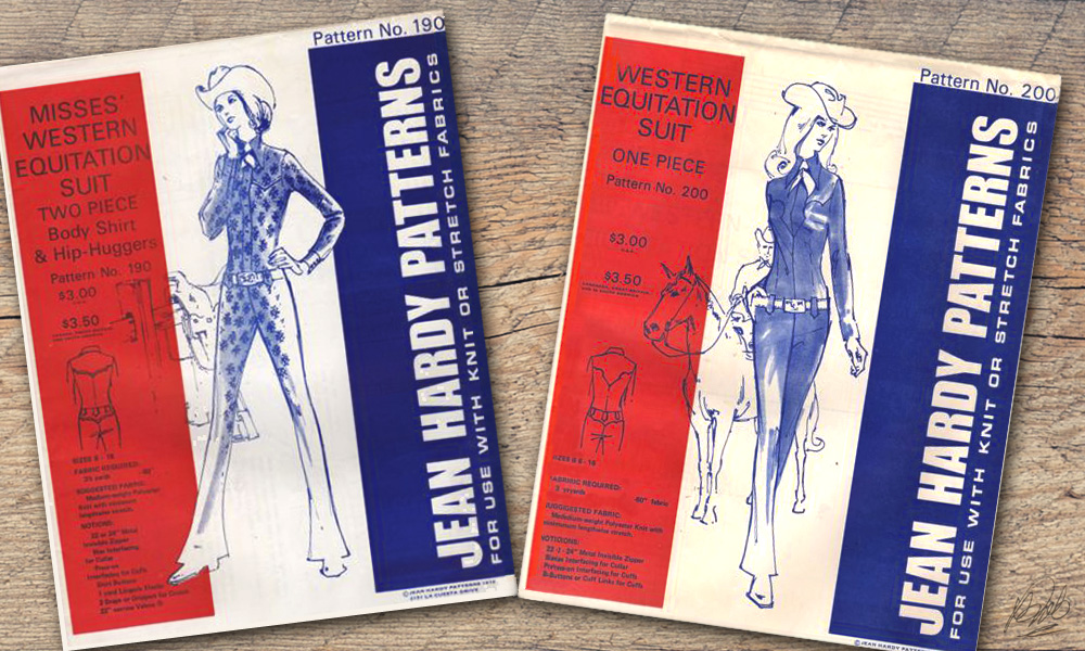 Jean Hardy equitation suit patterns