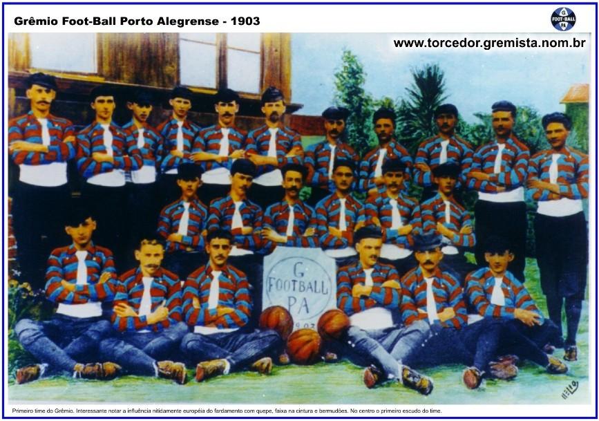 f32fe156f55a7 1903-Ano de Fundação do clube