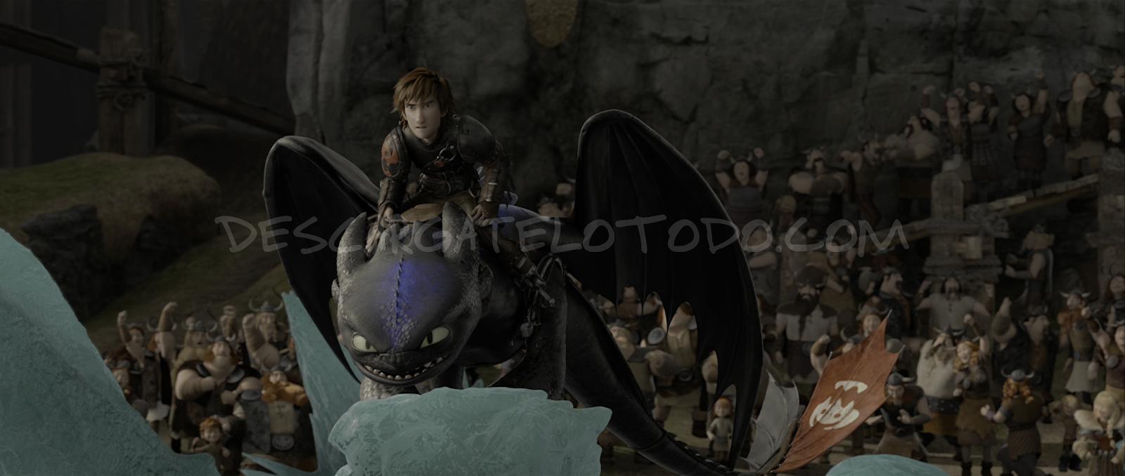 Cómo Entrenar a tu Dragón 2 (2014) 4K UHD [HDR] Latino-Castellano-Ingles captura 4
