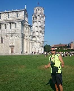 La Torre de Pisa.