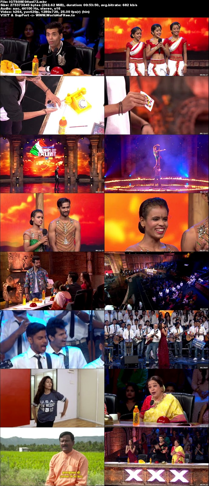India's Got Talent S08 Episode 04 720p WEBRip 250mb x264 world4ufree.vip tv show India's Got Talent  Season 8 Star Plus tv show HD 720p free download or watch online at world4ufree.vip