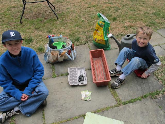 Gather supplies to start your garden