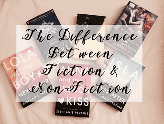 The Difference Between Fiction and Non-Fiction