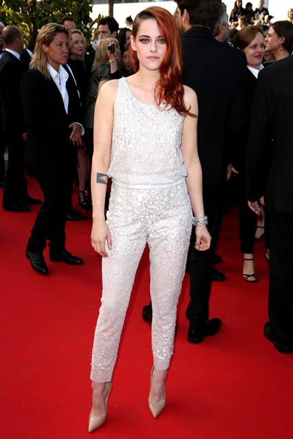 Kristen Stewart wore a Chanel Couture look at Cannes 2014