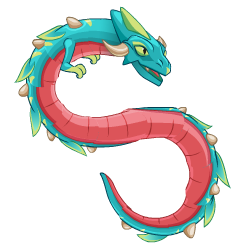 Appearance of DéjàVu Dragon when teenager