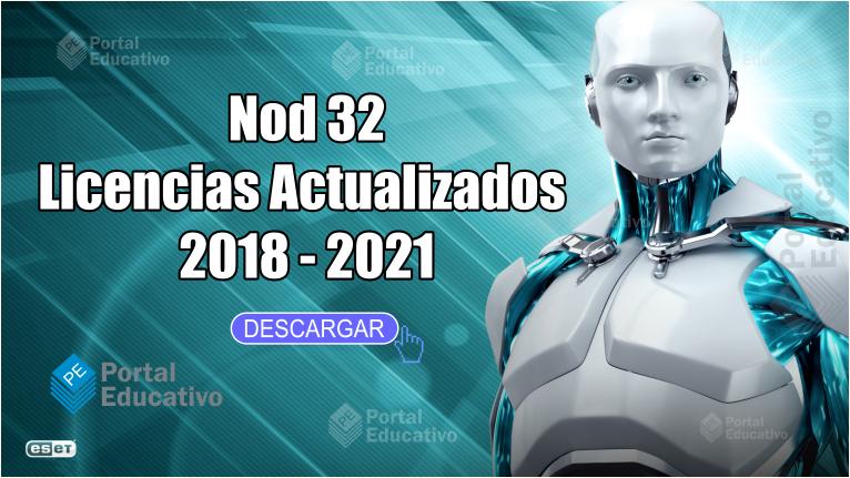 licencias para nod32 9 actualizadas 2018 gratis