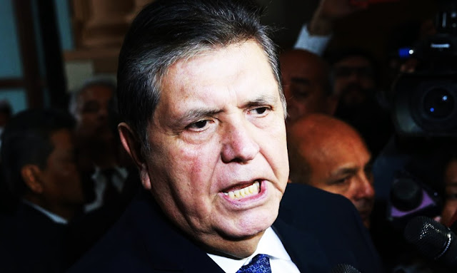 Alan García insiste en que pago por conferencia no fue soborno