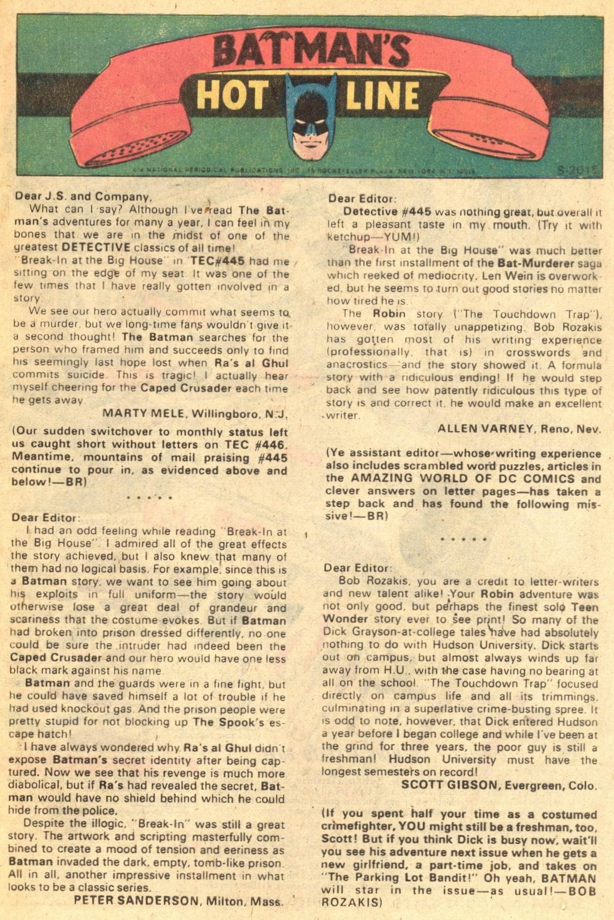 Detective Comics (1937) 449 Page 32