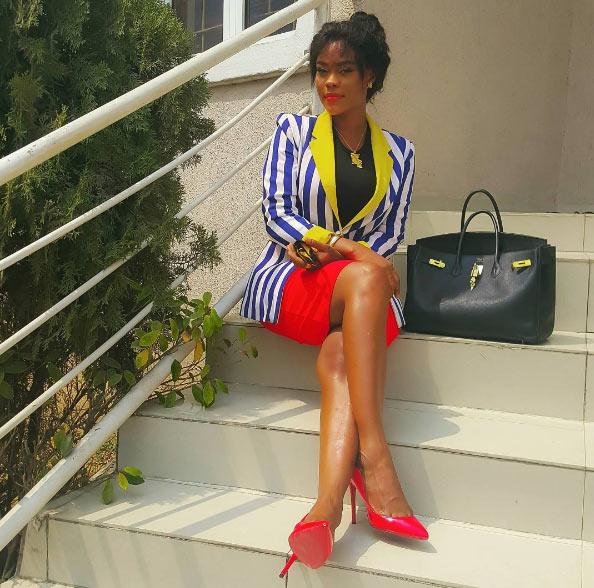 """Daniella Okeke hails herself """"boss"""" as she shares new photo"""
