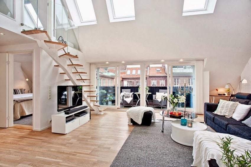 Dwupoziomowy, przestronny apartament w bieli, wystrój wnętrz, wnętrza, urządzanie domu, dekoracje wnętrz, aranżacja wnętrz, inspiracje wnętrz,interior design , dom i wnętrze, aranżacja mieszkania, modne wnętrza, białe wnętrza, wnętrza w bieli,