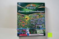 Erfahrungsbericht: Premium Bienen und Hummelmagnet inkl. 1 Pkg. Kamelien-Balsaminen kostenlos - Blumenwiese