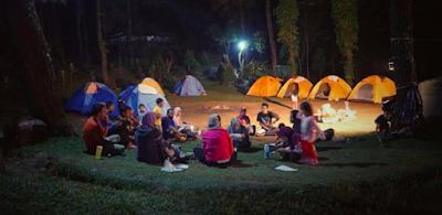 Fun Trip Family Camp di Gunung Pancar