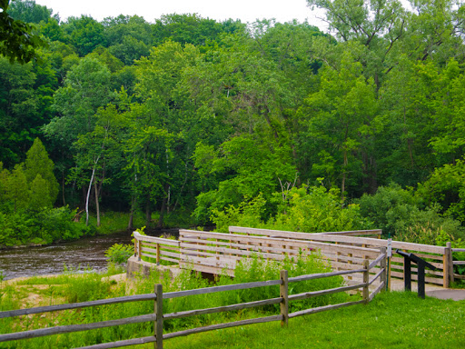 Milwaukee River at Lime Kiln Park - Grafton WI