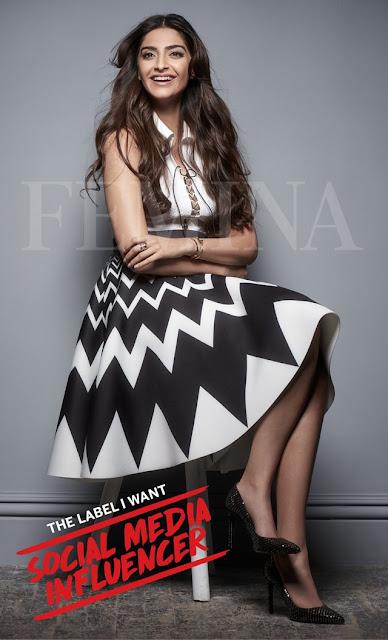 Sonam Kapoor Poses for Femina 2017 photos
