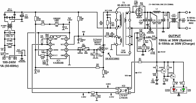 транзистор кт829а схема зарядки шуруповертов