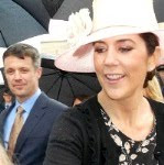 i met Crown Princess Mary