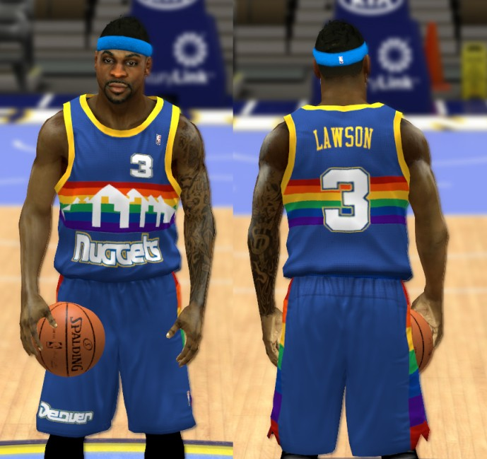 59ba36a21821 ... Denver Nuggets V2 - Jerseys Included in the pack ...
