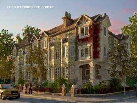Casas adosadas en Buenos Aires arquitectura estilo Inglés