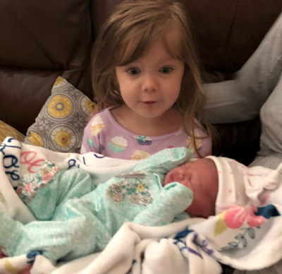 Allie Jane Webster and Zoey Joy Webster