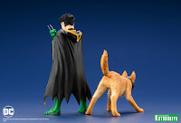 """Super Sons Robin and Ace the Bat-Hound 2 Pack"" - Kotobukiya DC Comics ARTFX+ collection"