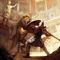 gladiatori contro animali feroci