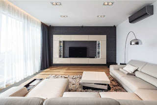 The entire interior is to be considering for apartment design