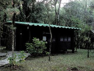 Cabana no Parque do SESI, em Canela