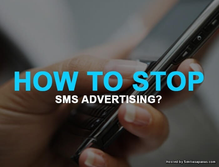 STOP SMS ADVERTISING