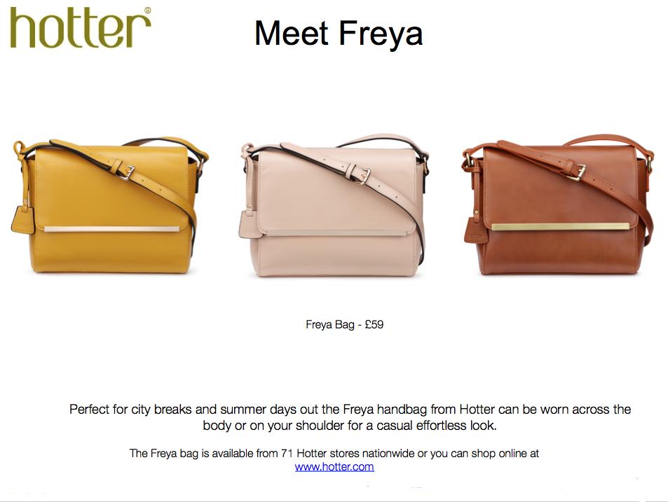 Hotter S Freya Handbag In The 70 Hues