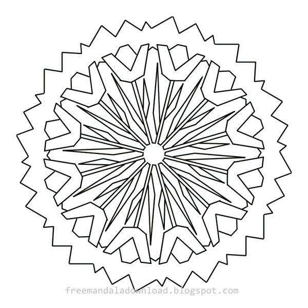 Großartig Mandala Entwirft Malvorlagen Ideen ...