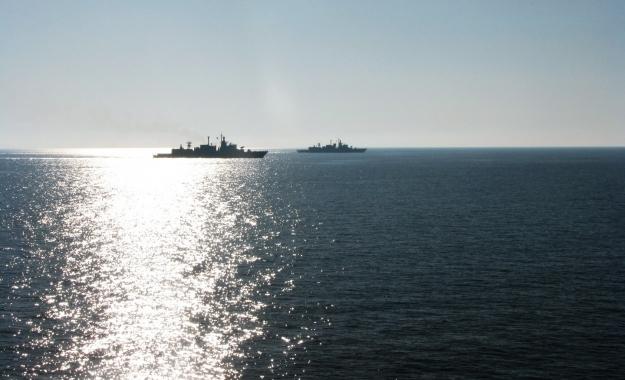 Τουρκική φρεγάτα εναντίον ερευνητικού σκάφους στην ελληνική υφαλοκρηπίδα