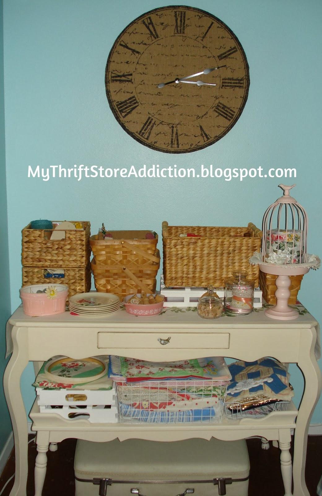 Repurposed shelves