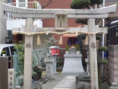 松乃木神社鳥居