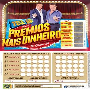Tele sena de páscoa 2016 - 1º sorteio 13/03/2016