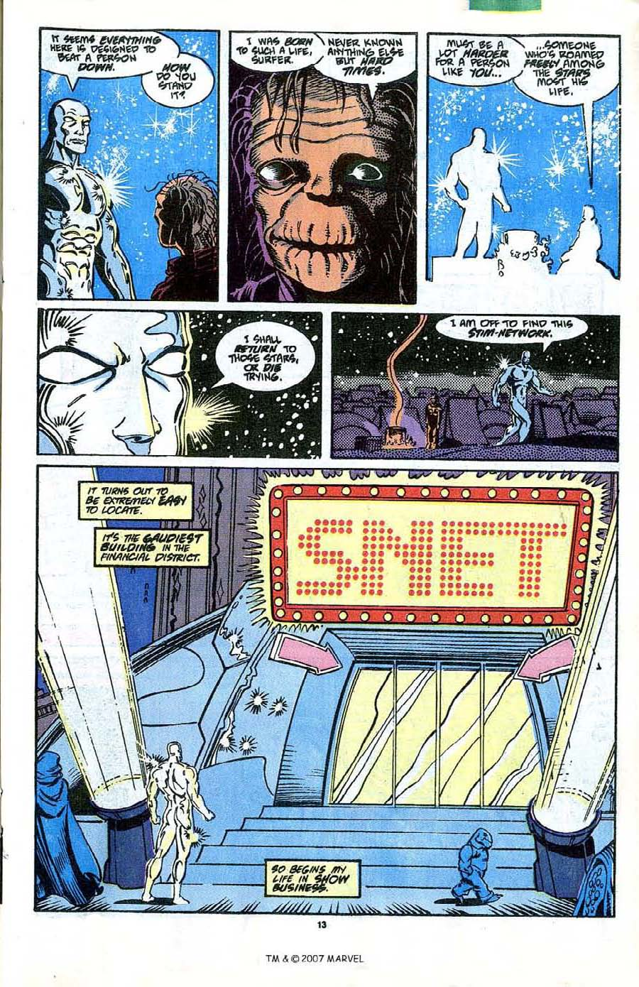 Read online Silver Surfer (1987) comic -  Issue #41 - 15