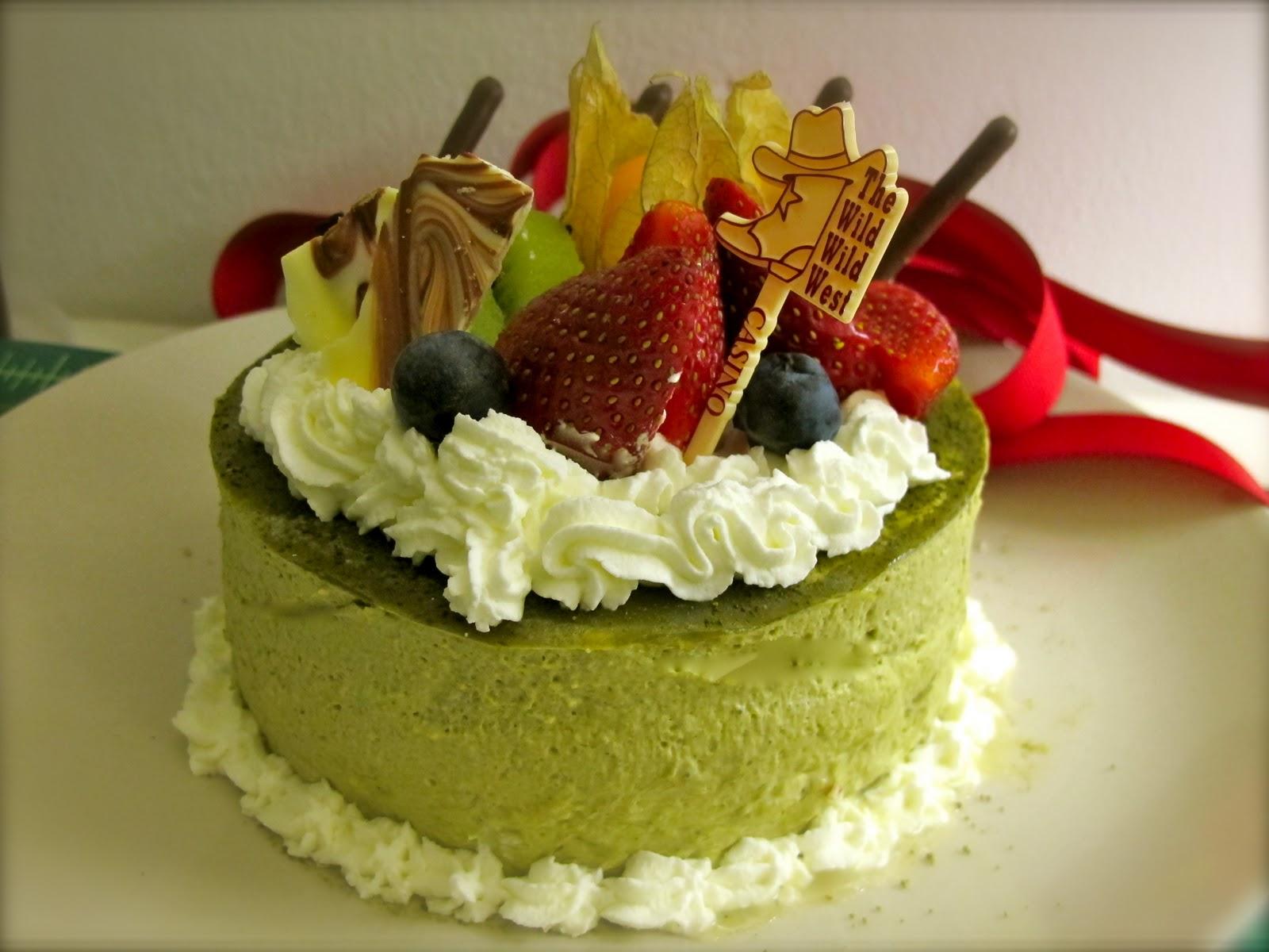 Green Tea Cake Recipe Japanese: CHEWIE:How To Make Traditional Asian Recipes: Green Tea