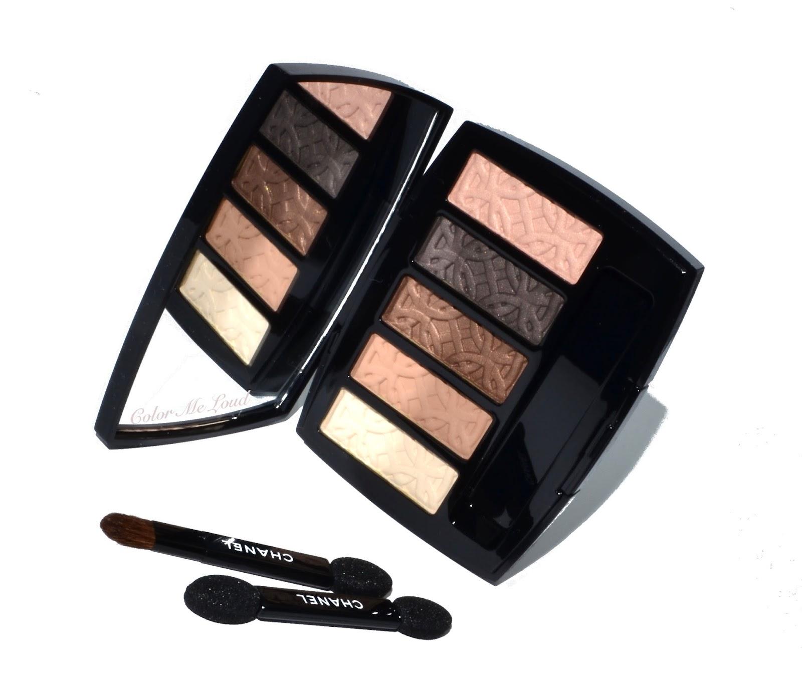 e1d7ca86449 Chanel Eyeshadow Palette in Entrelacs   Chanel Joues Contraste ...