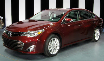 Toyota Avalon 2016 Hybrid Sedan red color Hd Images