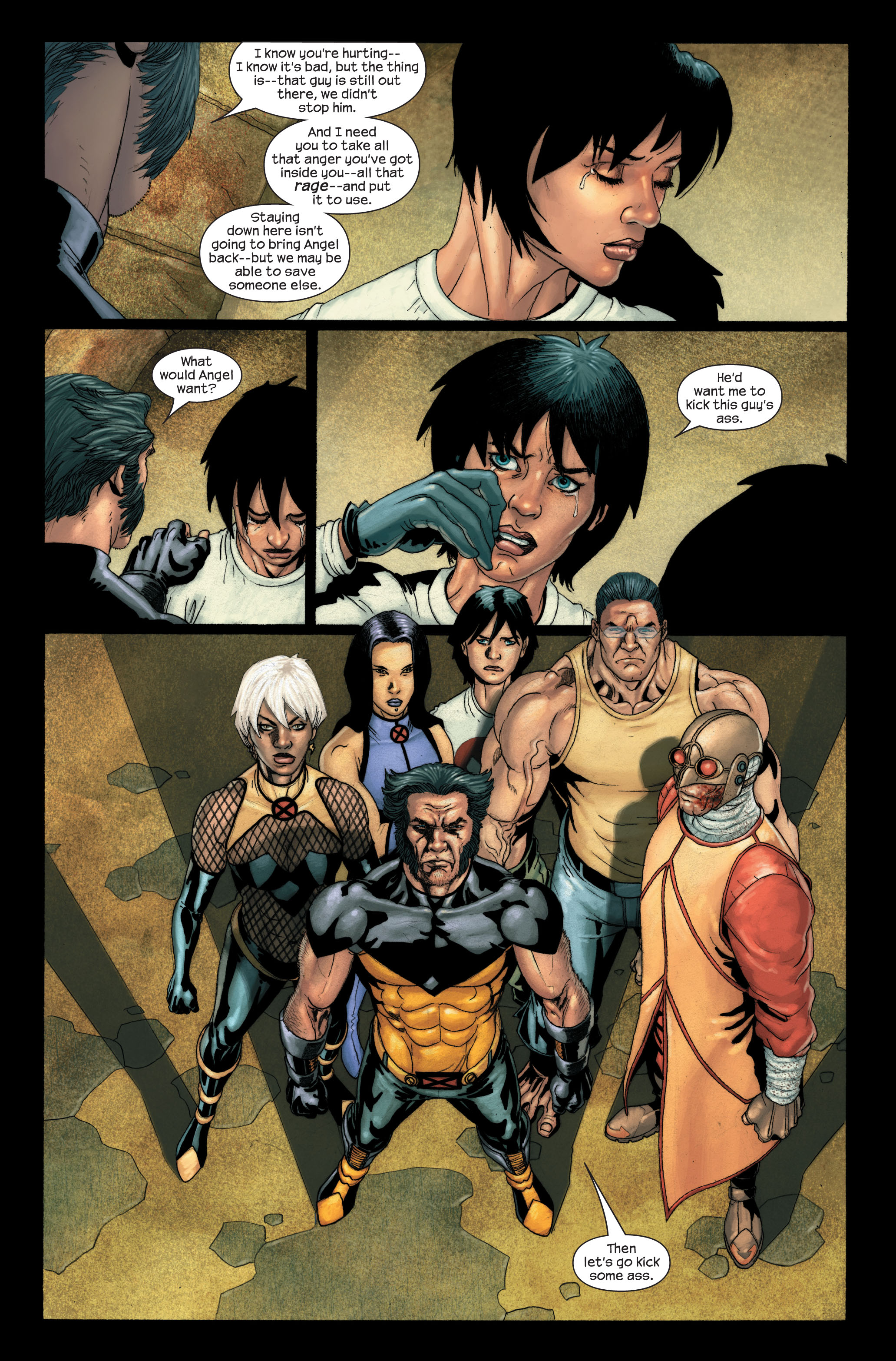 Read online Ultimate X-Men comic -  Issue #91 - 6