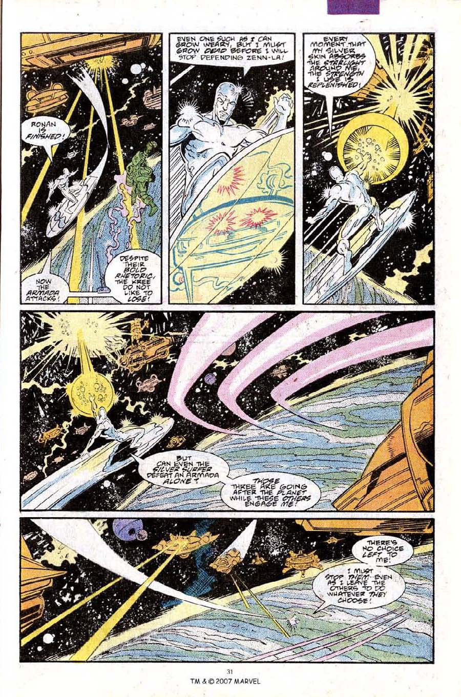 Read online Silver Surfer (1987) comic -  Issue #25 - 33
