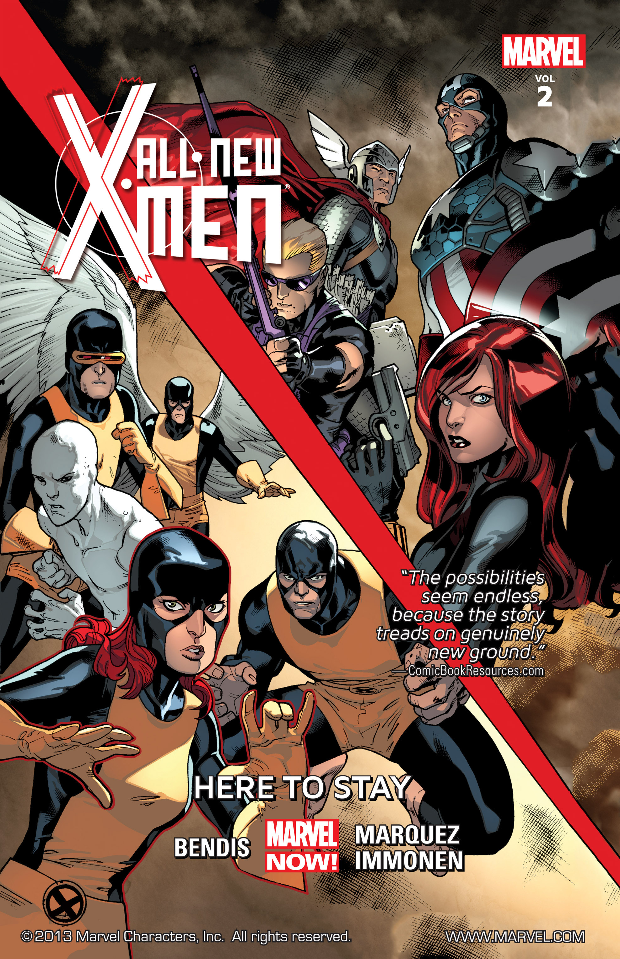 Read online All-New X-Men (2013) comic -  Issue # _Special - Here To Stay - 1