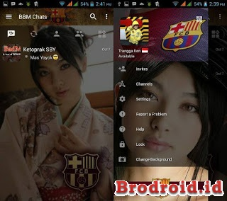 BBM Transparan Change Background Terbaru