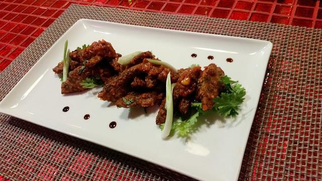 Crispy Congee Veg