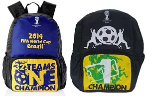 Fifa Brazil Casual Backpacks – Flat 80% Off just for Rs.500.0 at Amazon