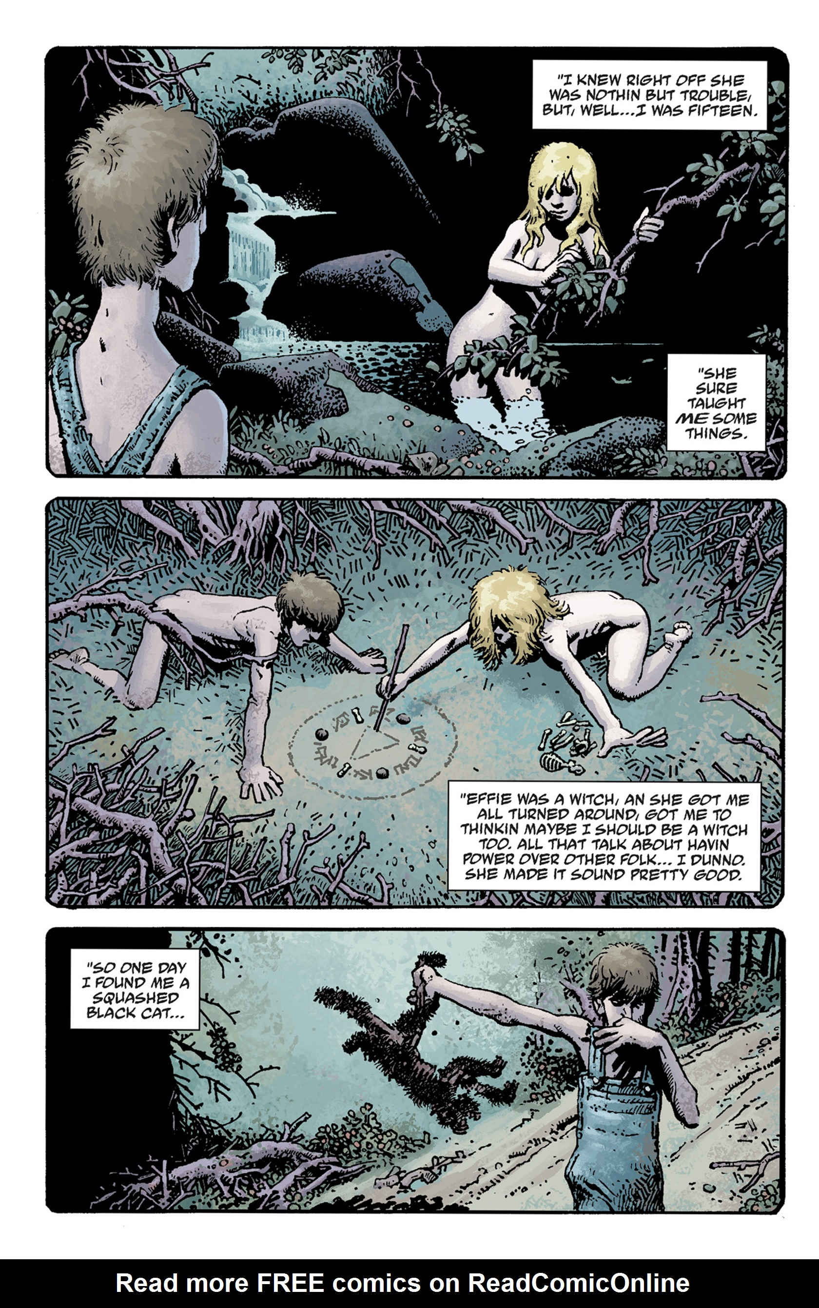 Read online Hellboy: The Crooked Man and Others comic -  Issue # TPB - 20