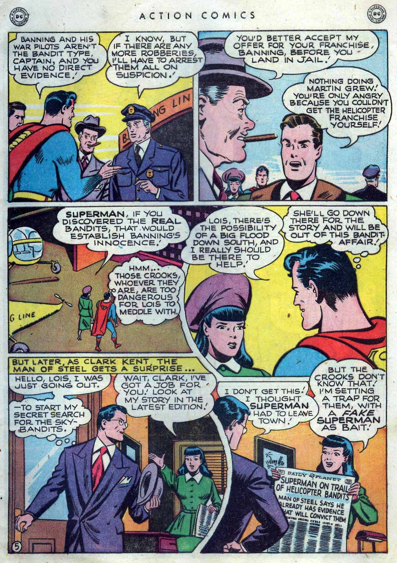 Read online Action Comics (1938) comic -  Issue #119 - 7