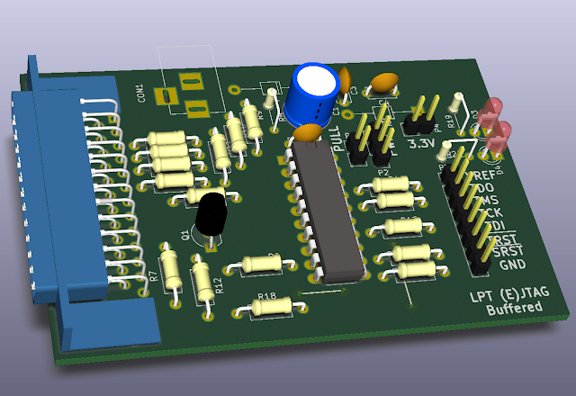 Buffered JTAG adapter (Wiggler)