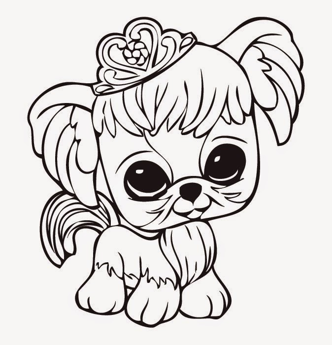 Littlest Pet Shop Coloring Pages To Color Online For Free