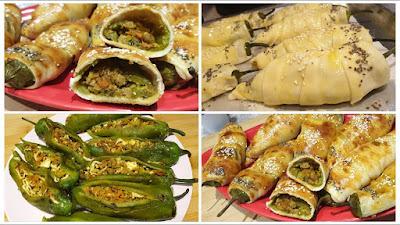 شهيوات رمضان مقبلات أو فطائر تذوب في الفم مذاق رائع جدا جدا / سهلة التحضير